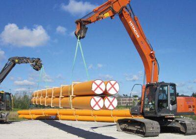 Etablering af biogasledning