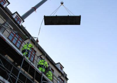 Udbygning af etageejendom