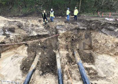 Vand- og spildevandsledninger i Lyngby